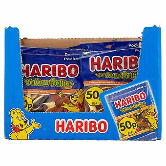 HARIBO YellowBellies 1.4kg, Bulk Sweets, 20 packs x 70g