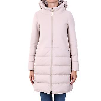 Herno Pi0848d396011985 Dames's Beige Wool Down Jacket
