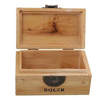 Wood Pet Ashes Urn Cremation Box 16.5*10*9cm
