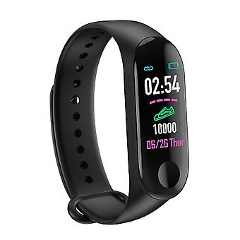 M3 Plus Smart Bracelet Fréquence cardiaque, Blood Pressure Monitor Fitness Tracker,