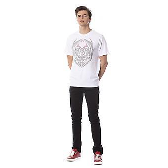 Trussardi Jeans W White T-Shirt TR688370-S