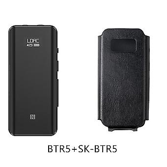 Btr5 With Case 24 Bit Hi-res Bluetooth 5.0 Receiver/usb Dac/dsd256 Headphone Amp With Ldac Aptx Hd(3.5mm/2.5mm) (btr5 And Sk-btr5)