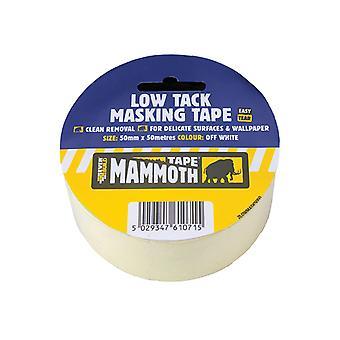 Everbuild Low Tack Masking Tape 50mm x 25m EVB2LOWMT50