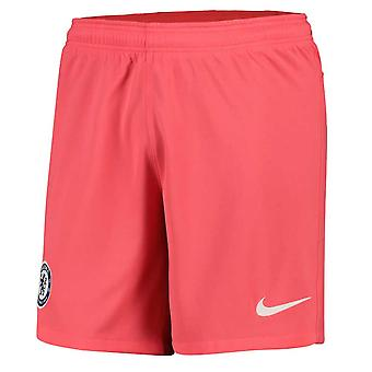 2020-2021 Chelsea Third Nike Football Shorts (Ember Glow)