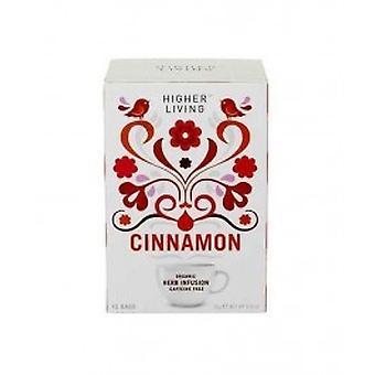 高い生活 - シナモン有機包茶 15 袋 X 4