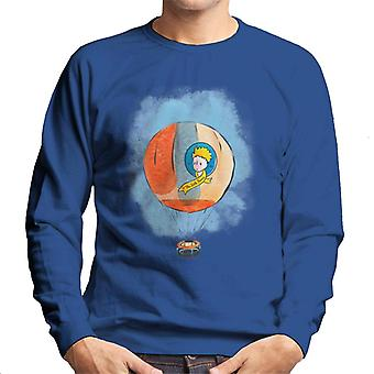 The Little Prince Hot Air Balloon Men's Sweatshirt