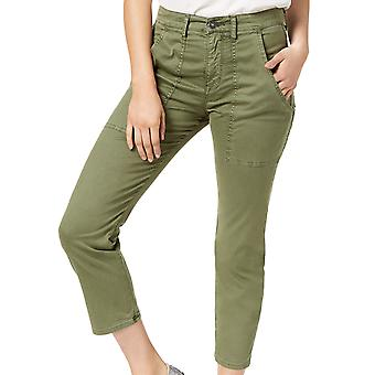 Hudson | Leverage Cropped High Rise Ankle Cargo Pants
