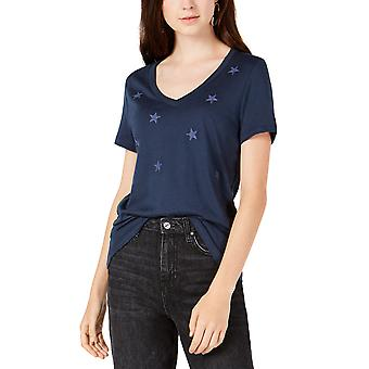 Carbon Copy | Embroidered Stars T-Shirt