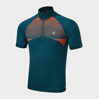New Dare 2B Men's Stay The Course Cycling Jersey Blue