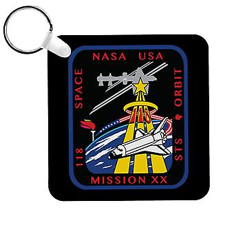 NASA STS 118 Space Shuttle Endeavour Mission Patch Keyring
