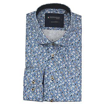 ベイリーズ ジョルダーノ ジョルダーノ ブルー シャツ 207014PC