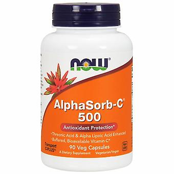 Now Foods AlphaSorb-C, 500 mg, 90 Vcaps
