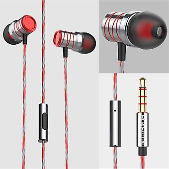 Bakeey P20 Metal Super Bass Music Earphone Gaming In-ear Headphones with Mic