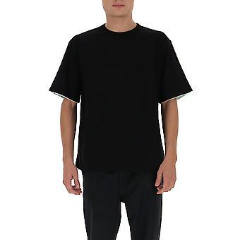 Agguato Bmaa003f20jer0011051 Uomini's T-shirt in cotone nero