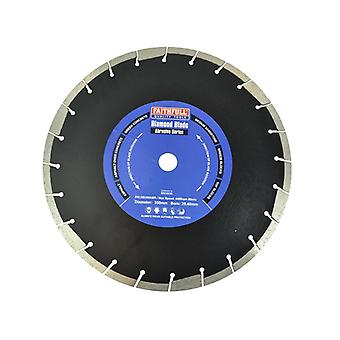Faithfull Abrasive Diamond Blade 350 x 25.40mm SVA8035025