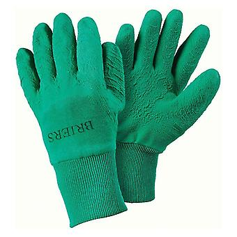 Briers All Rounder Green Gardening / Warehouse / Utility Gloves - Medium Size 8