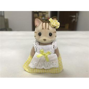 Geniune Sylvanian Families Dollhouse- Animial Furry Figures Rabbit / Dogs /