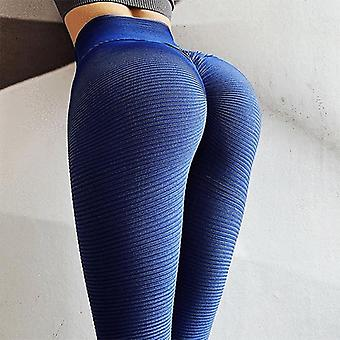 Yoga Gym Butt Lift Collants taille haute Fitness Yoga Pants, Running Tights Sport