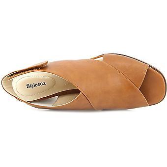 Tyyli & Co naisten Danyell avoimen rento Muuli sandaalit