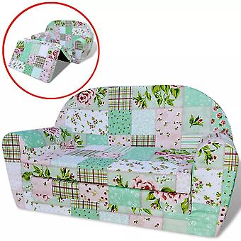 Dzieci składane krzesło kwiatowy wzór