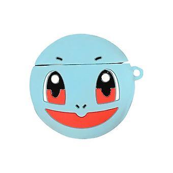 פוקימון מגן סיליקון מקרה עבור אפל AirPods כחול