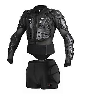 Snowboard Jacket Men Full Body Armor Jacket Back Chest Shoulder Elbow