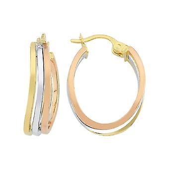 Circle Gold Earring
