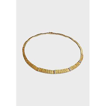 Kalevala Collier Kvinnors Ciria 14K Gulddiamanter 1351240TI43 Längd mm 430
