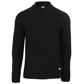 C.p. company men's black turtle neck sweatshirt