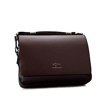 Pu Leather, Messenger/ Shoulder And Crossbody Bag Business Handbags's