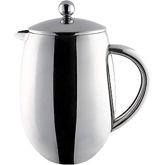 Caf Ole 3 Cup Double Walled Bellied Cafetiere French Press Coffee Maker