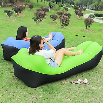 Bureau d'air portable Waterproof Inflatable Sofa Portable Outdoor Beach Bed