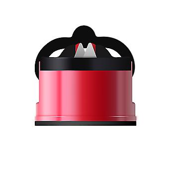 2 in 1 Knife Sharpener with Non-Slip Suction Cup for Kitchen, Workshop, Craft Rooms, Repair, Polish