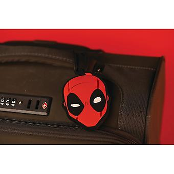 Deadpool Head matkalaukkulappu