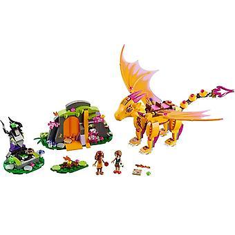 Elves Fairy Friends Figures Building Block Bricks Toy Compatible Lepining