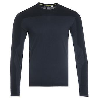 Napapijri Ze-K319 Long Sleeve T-Shirt - Marine Blue