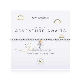 Joma Jewellery A Little Adventure Awaits Airplane Bracelet 3099