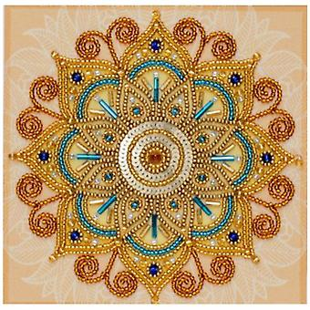 VDV Free Form Bead Embroidery Kit - Source of Wealth