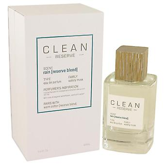 Clean Rain Reserve Blend Eau De Parfum Spray By Clean 3.4 oz Eau De Parfum Spray