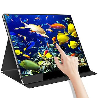 Portable Monitor 15.6 Inch Touch Screen Built-in Battery 3840*2160p 4k Uhd With
