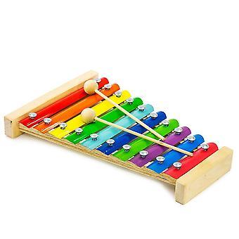 Alatoys Holz Glockenspiel 10 Bretter