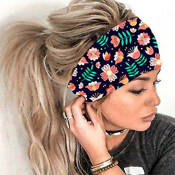 Banda de cabeça seca rápida e elástica e elástica para yoga running color7