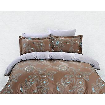 Juego de sábanas de cubierta de edredón, ropa de cama Dolce Mela Lefkada Queen Size