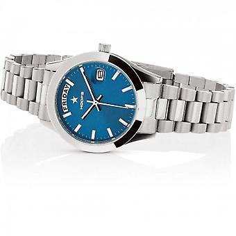 Hoops Luxury Steel Watch 2620l-s04 Blue