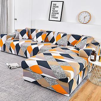Cobertura de sofá elástico cobertura de cadeira seccional de sofá precisa de ordem 2 peças