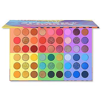 Splashy Candies, Eye Shadow Palette, Vivid Summer Look, Makeup, Glitter,