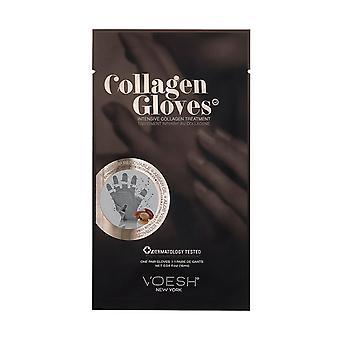 1Pair van Voesh New York Collageen Handschoenen met Arganolie > AloëVera Extracten, 16ml