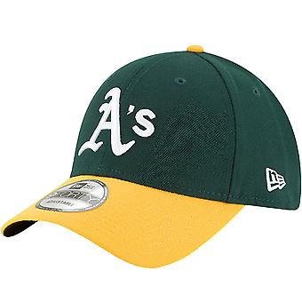 New Era 9FORTY Oakland Athletics The League MLB Adjustable Baseball Cap - Green