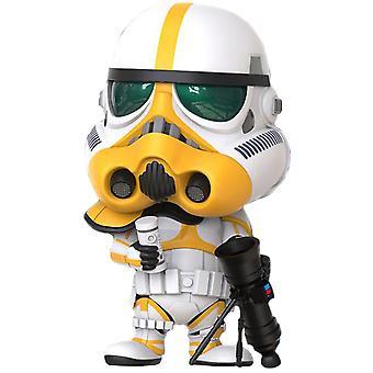 Star Wars: Det mandaloriska artilleriet Stormtrooper Cosbaby