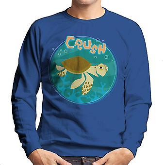 ピクサーファインディングニモクラッシュローミング海の男性&アポ;sスウェットシャツ